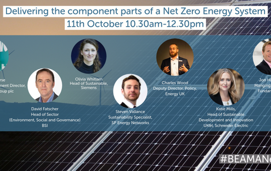Delivering the component parts of a Net Zero Energy System